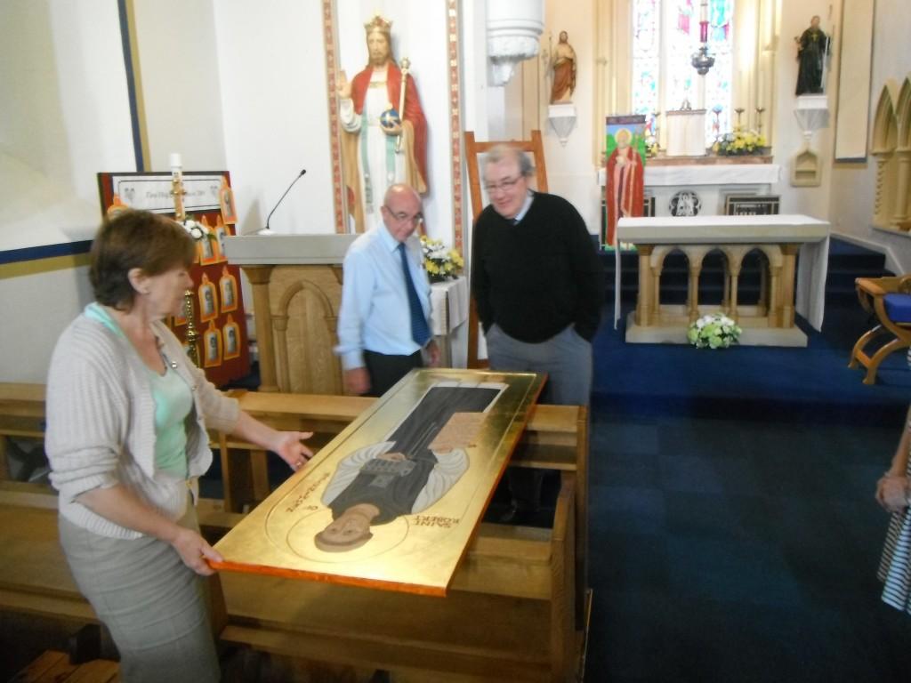New St Robert Icon 002