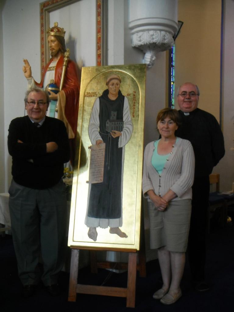 New St Robert Icon 008